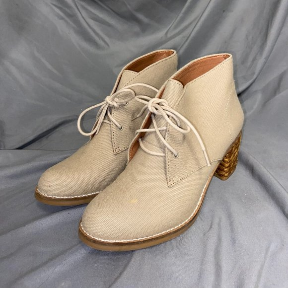 Lucky Brand Women's Tan Ankle Booties